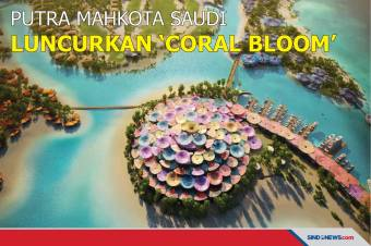 Putra Mahkota Saudi Luncurkan 'Coral Bloom' di Laut Merah