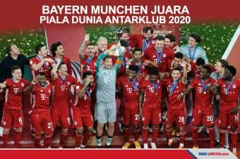 Kalahkan Tigres 1-0, Bayern Munchen Juara Piala Dunia Antarklub 2020