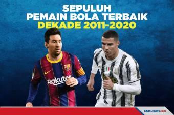 Singkirkan Ronaldo, Messi Jadi Pemain Bola Terbaik Dekade 2011-2020