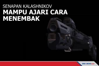 Senapan Kalashnikov Mampu Ajari Penggunanya Cara Menembak