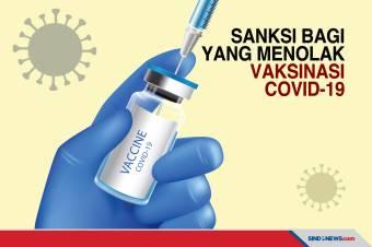 Ancaman Sanksi bagi yang Menolak Vaksinasi Covid-19