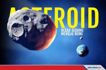 Asteroid Besar dengan Kecepatan 123.887 Km/Jam sedang Menuju Bumi