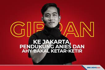 Gibran ke Jakarta, Pendukung Anies dan AHY Bakal Ketar-ketir