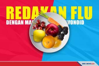 Redakan Flu dengan Makanan yang Kaya Flavonoid Berikut Ini!