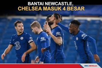 Chelsea Masuk Zona Liga Champions Usai Bekuk Newcastle 2-0