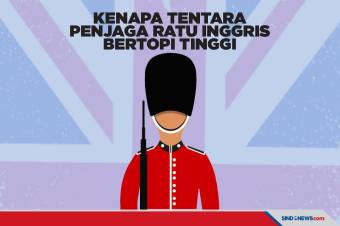 Kenapa Tentara Penjaga Ratu Inggris Menggunakan Topi Tinggi