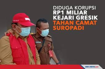 Diduga Korupsi Rp1 Miliar Kejari Gresik Tahan Camat Suropadi