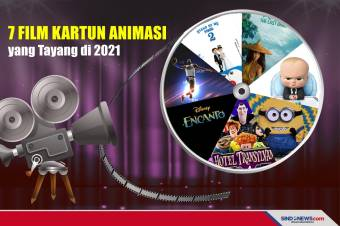 Tujuh Film Kartun Animasi Terbaru yang Tayang di 2021