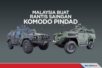 Mildef HMAV Kendaraan Taktis Malaysia Saingan Komodo Pindad