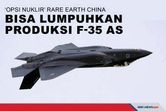 'Opsi Nuklir' Rare Earth China bisa Lumpuhkan Produksi F-35 AS