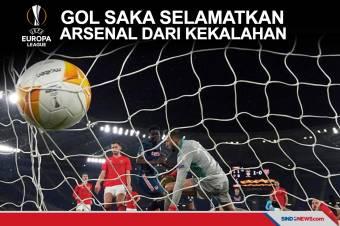 Gol Bukayo Saka Selamatkan Arsenal dari Kekalahan