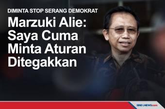 Marzuki Alie: Cuma Minta Aturan Ditegakkan, Jangan Asal Fitnah