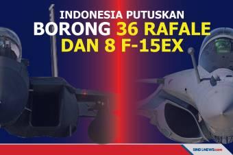 Indonesia Putuskan untuk Borong 36 Rafale dan 8 F-15EX