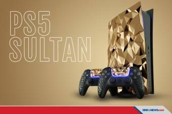 Ini Dia PS5 Kelas Sultan Berlapis Emas yang Dijual Rp7 Miliar