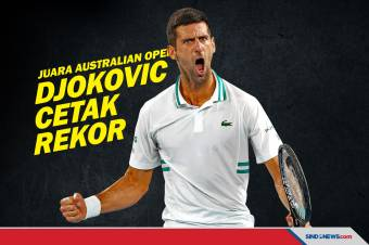 Juara Australian Open 2021, Novak Djokovic Cetak Rekor