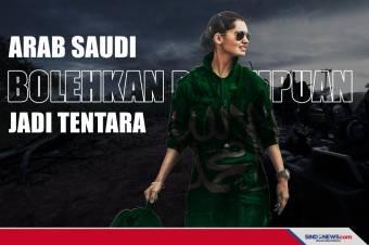 Akhirnya Arab Saudi Bolehkan Perempuan Jadi Tentara