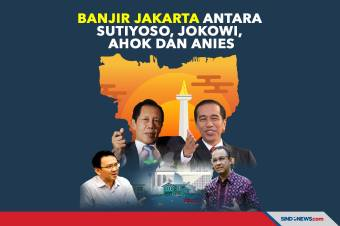 Banjir Jakarta Antara Sutiyoso, Jokowi, Ahok dan Anies