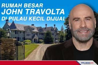 Rumah Besar John Travolta di Pulau Kecil Dijual Rp70,5 Miliar