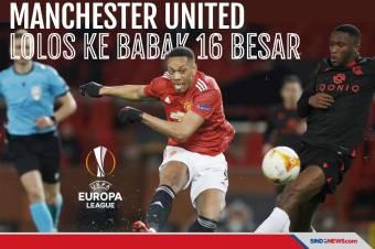 Raih Hasil Imbang, Man United Lolos ke 16 Besar Liga Eropa