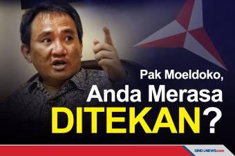 Andi Arief Mengomentari Pernyataan Moeldoko yang Merasa Ditekan