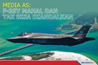 Media AS: Jet Tempur F-35 Mahal dan Tak Bisa Diandalkan