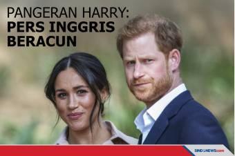 Pangeran Harry Sebut Pers Inggris Beracun, Merusak Mental!