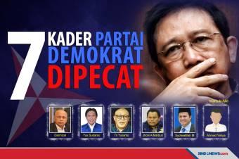 Peruncing Konflik di Internal Demokrat Atas Pemecatan 7 Kader