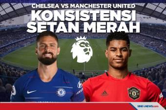 Chelsea vs Manchester United: Uji Konsistensi Setan Merah