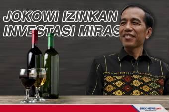 Jokowi Izinkan Investasi Miras, Berikut Aturannya