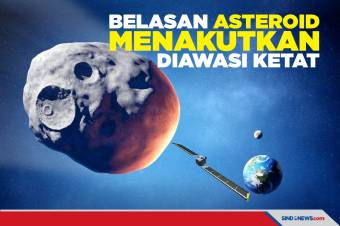 Sejak 2020, Belasan Asteroid Menakutkan Ini Telah Diawasi Ketat