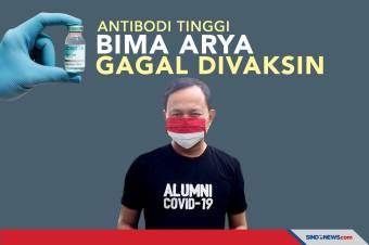 Antibodi Tinggi, Wali Kota Bogor Bima Arya Gagal Divaksin