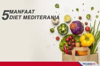Manfaat Diet Mediterania, Baik untuk Penderita Penyakit Jantung