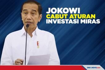Resmi, Jokowi Cabut Aturan Investasi Industri Miras