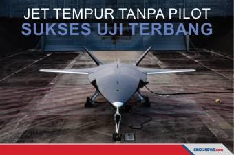Loyal Wingman Jet Tempur Tanpa Pilot Sukses Uji Terbang