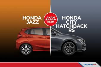 Honda Jazz Akan Digantikan oleh Honda City Hatchback RS