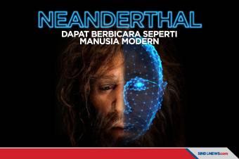 Neanderthal Dapat Berbicara seperti Manusia Modern