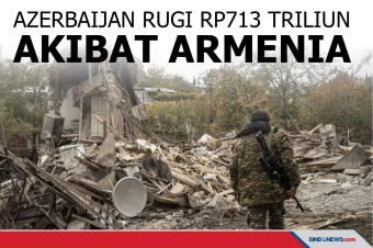 Azerbaijan Rugi Rp713 Triliun Akibat Dirusak Armenia