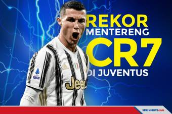 Deretan Rekor Mentereng Cristiano Ronaldo di Juventus