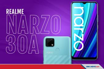 Realme Narzo 30A Rilis di Indonesia Harganya Rp1,8 Jutaan