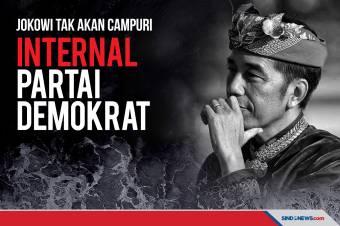 Jokowi Tidak Akan Mencampuri Urusan Internal Partai Demokrat