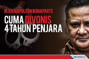 Irjen Napoleon Bonaparte Divonis 4 Tahun Penjara oleh Pengadilan