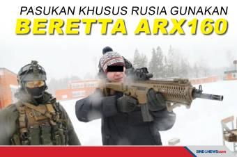 Eropa Geger, Pasukan Khusus Rusia Gunakan Beretta ARX160