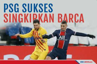 Raih Hasil Imbang, Barcelona Tersingkir dari Liga Champions