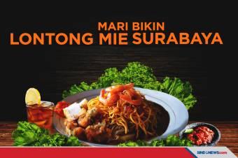 Mari Bikin! Lontong Mie Khas Surabaya yang Segar Gurih