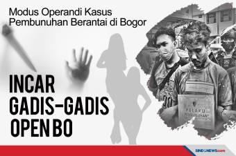 Psikopat Pembunuhan Berantai di Bogor Incar Gadis-gadis Open BO