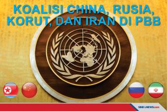 China, Rusia, Korut, dan Iran Bentuk Koalisi di PBB