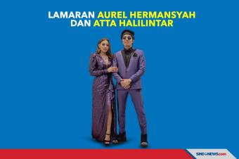 Lamaran Aurel Hermansyah dan YouTuber Atta Halilintar