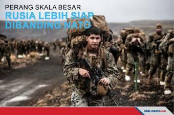 Perang Skala Besar Rusia Lebih Siap Dibanding NATO