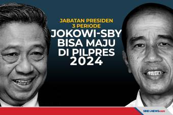 Jokowi-SBY Bisa Maju di Pilpres 2024, Jika Presiden 3 Periode