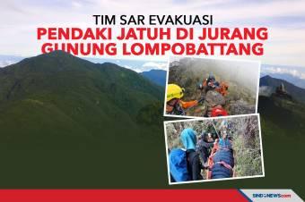 Tim SAR Evakuasi Pendaki Jatuh di Jurang Gunung Lompobattang